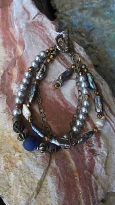 Jewelry - Freshwater Pearls #b003 by Barbara Prestridge