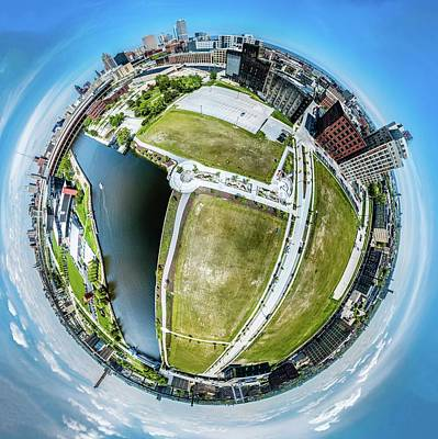 Photograph - Freshwater Way Little Planet by Randy Scherkenbach