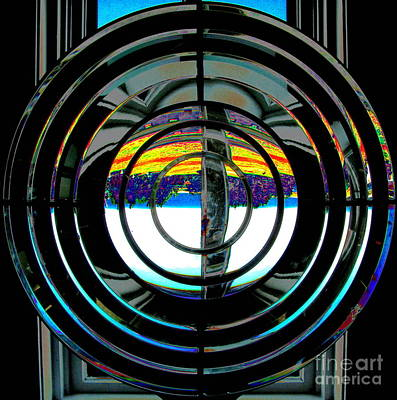 Photograph - Fresnel Lens by Colleen Kammerer