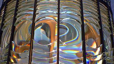 Fresnel Lens Art Print by Larry Keahey