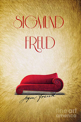 Freud Art Print by Binka Kirova