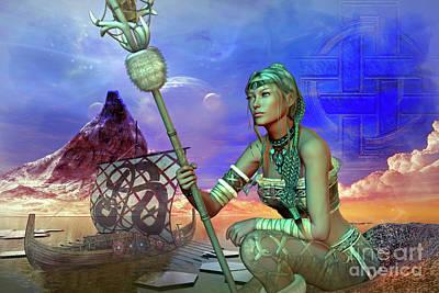 Digital Art - Freya by Shadowlea Is