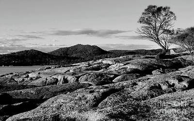 Photograph - Freycinet National Park Bw by Tim Richards