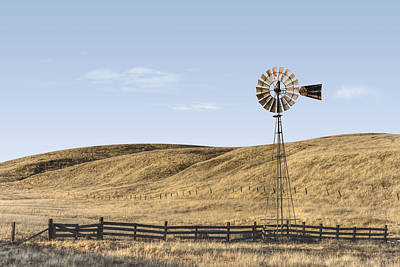 Photograph - Friant's Windmill by Jake Kerr