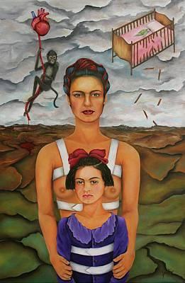 Painting - Frida Broken Dreams by Janice Aponte