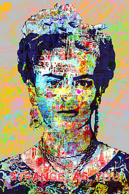 Painting - Frida by Gary Grayson