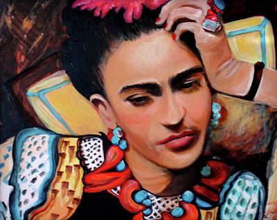 Painting - Frida by Jan VonBokel