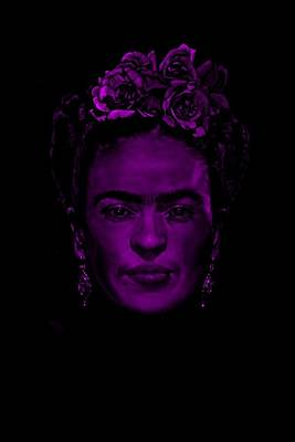 Painter Digital Art - Frida Kahlo  by Brian Broadway