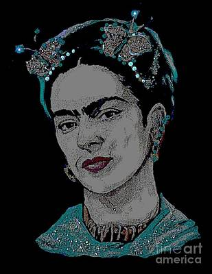 Painting - Frida Kahlo Butterfly by Valarie Pacheco