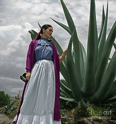 Photograph - Frida Kahlo by Granger