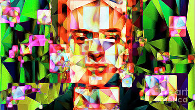 Photograph - Frida Kahlo In Abstract Cubism 20170326 V3 Long by Wingsdomain Art and Photography
