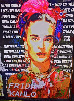 Photograph - Frida Kahlo by Joan Reese