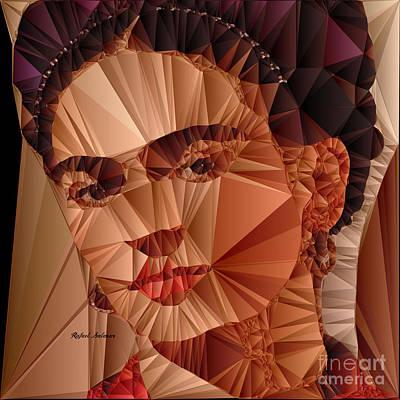 Digital Art - Frida Kahlo by Rafael Salazar