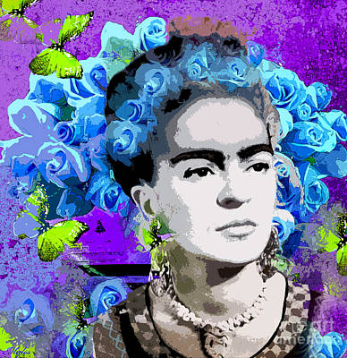 Painting - Frida Kahlo by Saundra Myles