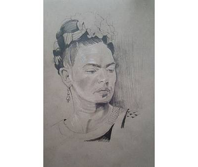Frida Kahlo Sketch  Original