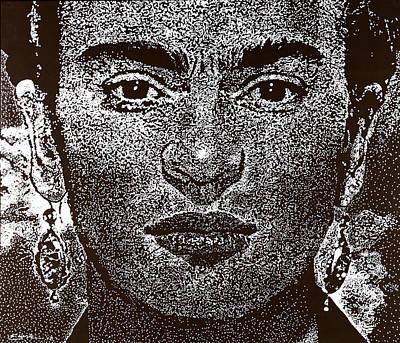 Frida Khalo Art Print by Max Eberle