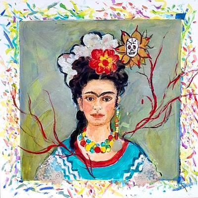 Fridamania Art Print