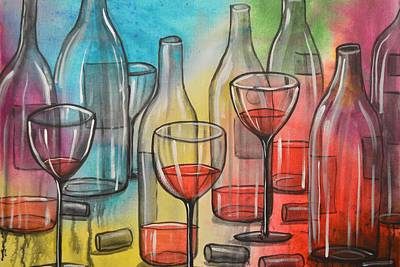 Painting - Friday Night by Amy Giacomelli