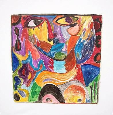 Painting - Friday Olo by Mykul Anjelo