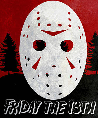 Digital Art - Friday The 13th Poster by Kyle West