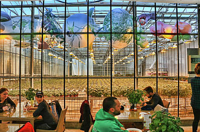 Photograph - Fridheimer Greenhouse And Restaurant by Allen Beatty
