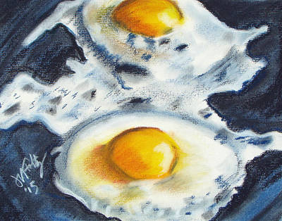 Painting - Fried Eggs by Michael Foltz