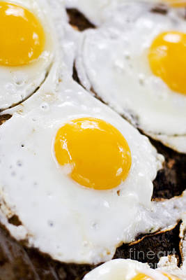 Barbecue Photograph - Fried Eggs by Jorgo Photography - Wall Art Gallery