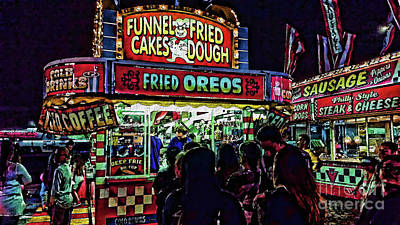 Photograph - Fried Oreos by Jeff Breiman