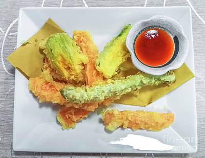 Photograph - Fried Shrimps Tempura by Benny Marty