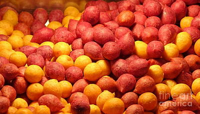 Art Print featuring the photograph Fried Sweet Potato Balls by Yali Shi