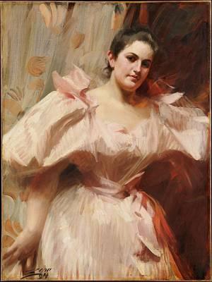 Frieda Schiff 18761958 Later Mrs Felix M Warburg Original by Anders Zorn