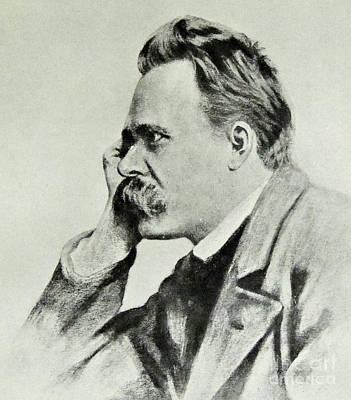 Philosopher Photograph - Friedrich Nietzsche, 1912 by German School