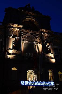 Friedrichsbad Baden-baden By Night, Germany Original