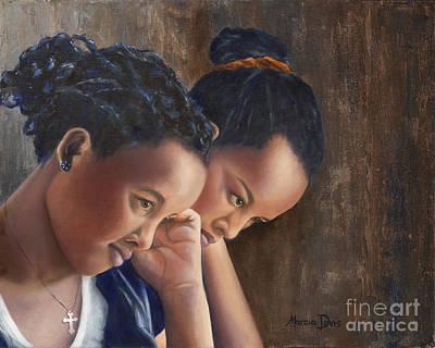 Friend A Life's Blessing Art Print by Marcia Davis