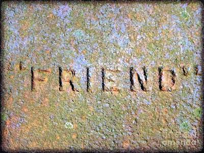 Photograph - Friend by Janine Riley