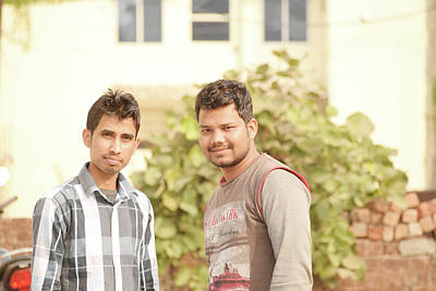 Mandal Photograph - Friend by Manish Mandal