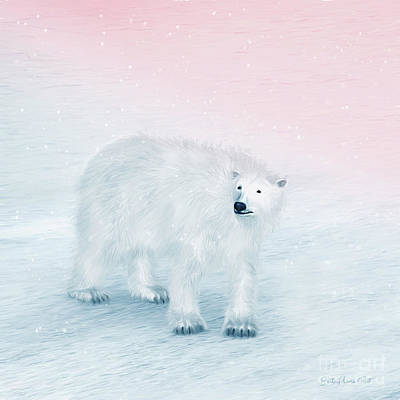 Digital Art - Friend Of The Arctic by Jutta Maria Pusl