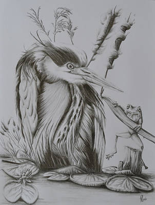 Friend Or Foe? Art Print by Roy Ramakers