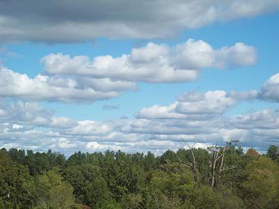 Photograph - Friendly Clouds Vii by Robin Coaker