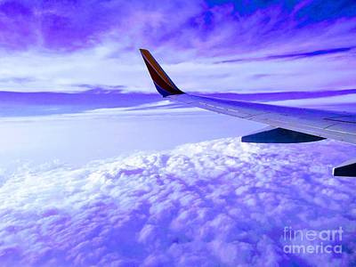 Photograph - Friendly Purple Skies by Robert Knight
