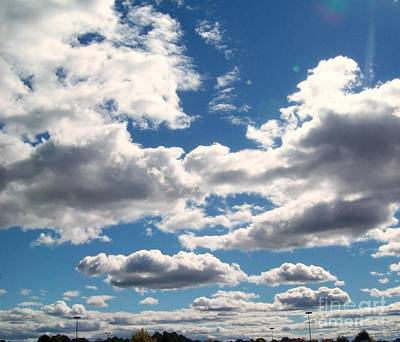Photograph - Friendly Skies V by Robin Coaker