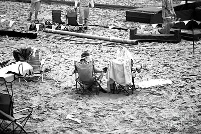 Seaside Heights Photograph - Friends At Seaside Heights Infrared by John Rizzuto