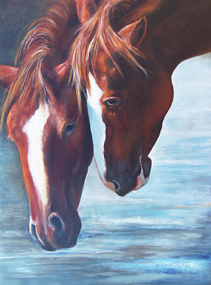 Painting - Friends For Life by Karen Kennedy Chatham