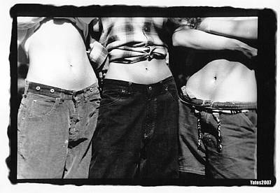 Bellybutton Photograph - Friends by Gerard Yates