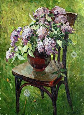 Painting - Friends by Juliya Zhukova