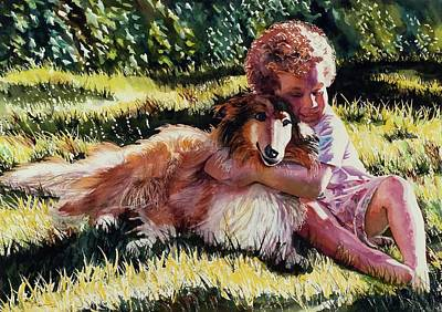 Painting - Friends by Maureen Dean