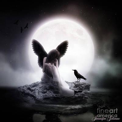 Rock Angels Digital Art - Friends Of A Feather by Jennifer Gelinas