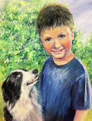 Painting - Friends by Svetlana Nassyrov