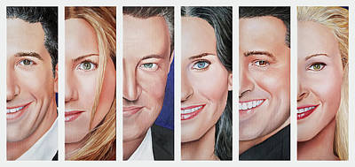 Painting - Friends Set One by Vic Ritchey