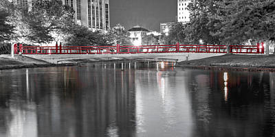 Downtown Huntsville Photograph - Friendship Bridge by Jeannee C Gannuch